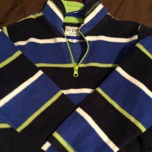 Boys half zip sweatshirt